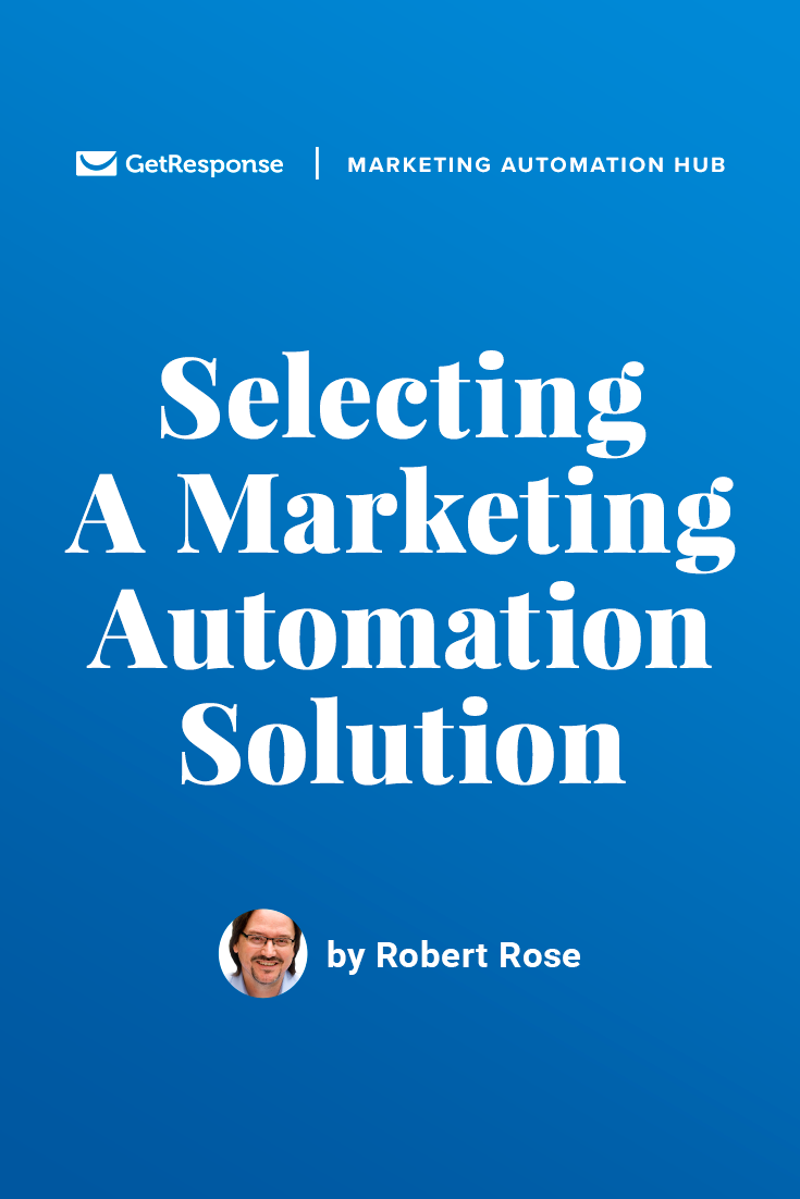 how do you select a marketing automation solution?
