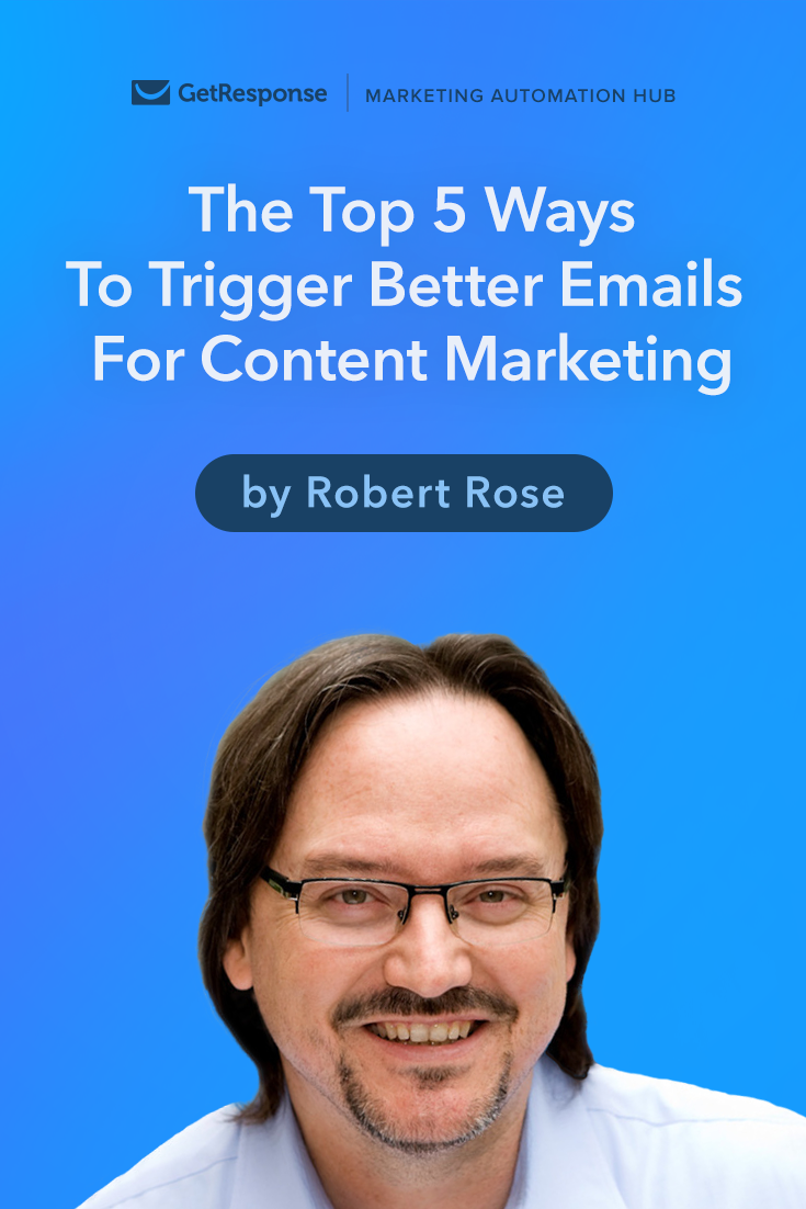 triggered email for better content marketing